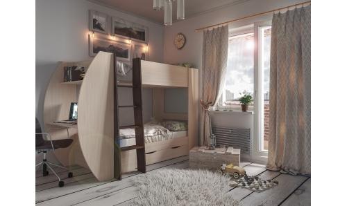 Новая модель двухъярусной кровати «Анеси-2»