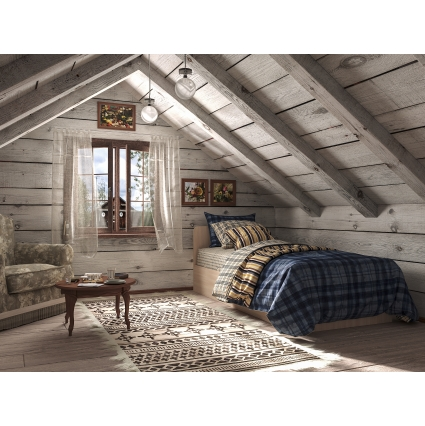 """Кровать """"Анеси-3"""" с подъемн. мех-м/ Вудлайн кремовый/ 2040x920x740"""