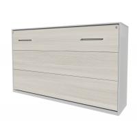 Кровать откид. гориз. Innova-H90 (Вудлайн кремовый)/ Ш2162 Г470(1110) В1165