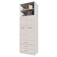 Шкаф комбинированный Innova-V01 (Вудлайн кремовый)/ Ш750 Г470 В2265