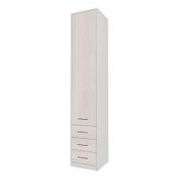 Шкаф комбинированный Innova-V02 (Вудлайн кремовый)/ Ш450 Г470 В2265