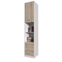 Шкаф комбинированный Innova-V03 (Дуб санома)/ Ш450 Г470 В2265