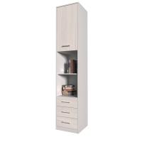 Шкаф комбинированный Innova-V03 (Вудлайн кремовый)/ Ш450 Г470 В2265