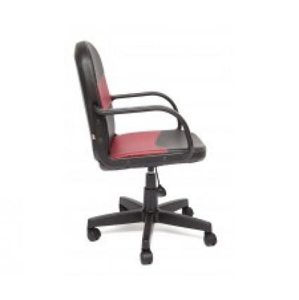 Кресло BAGGI черный/ бордо 960х460х620