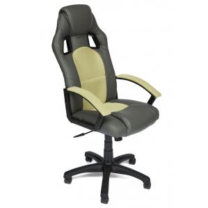 Кресло DRIVER черный/фисташковый 510х480х1230-1350
