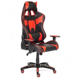 Кресло iBAT Черный/ Красный 740х500х1290-1390