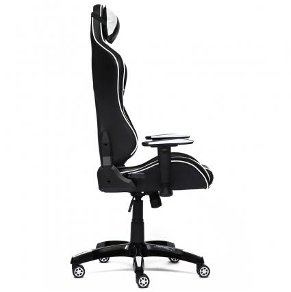 Кресло iBAT Черный/ Белый 740х500х1290-1390