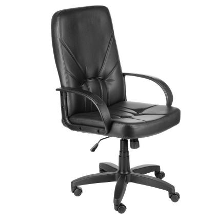 "Кресло ""МЕНЕДЖЕР"" ультра кожа черная 680х680х1170-1280"