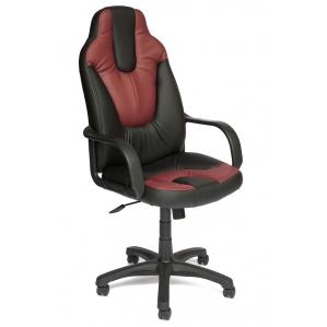 Кресло NEO (1) черный/ бордо 640х500х1210-1330