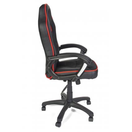 Кресло SHUMMY Черный/ Красный 570х460х1260-1380