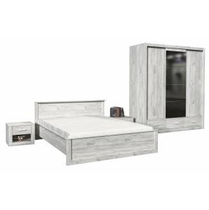 Набор для спальни ЛИМА-3 Дуб Белый