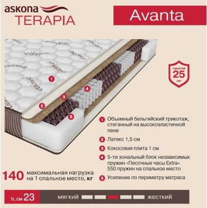 Матрас Askona Terapia Avanta (Аванта)