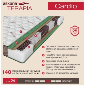 Матрас Askona Terapia Cardio (Кардио)