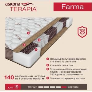Матрас Askona Terapia Farma (Фарма)