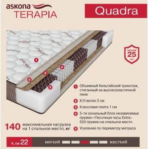 Матрас Askona Terapia Quadra (Квадра)