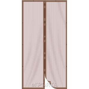 Антимоскитная Дверь Коричневая