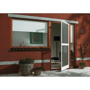 Противомоскитная дверь Белая