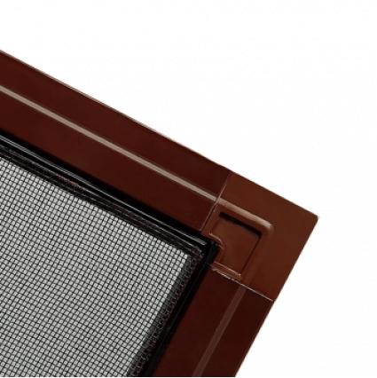 Противомоскитная сетка Коричневая на окна ПВХ (до 1100х2100мм)