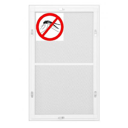 Противомоскитная сетка Белая на окна ПВХ (до 1100х2100мм)