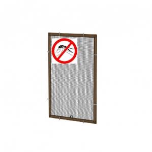 Противомоскитная сетка Коричневая на окна ПВХ (до 700х1500мм)