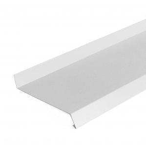 Отлив белый RAL 9003/ за пог. м.