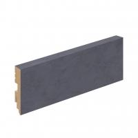 Плинтус напольный Loft/ Beton Graphite Art (L -2,4 м)