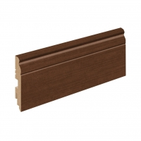 Плинтус напольный Classic/ Brown Oak (L -2,4 м)