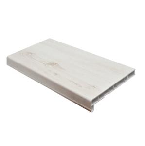 Подоконник ПВХ (Cristallit) Белый дуб матовый/ за кв.м.