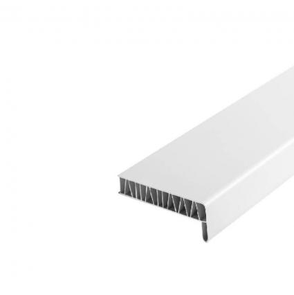 Подоконник ПВХ 100 мм (Белый матовый)