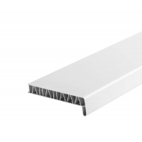 Подоконник ПВХ 300 мм (Белый матовый)
