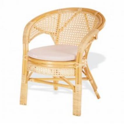 Кресло из ротанга 02/15B Мёд