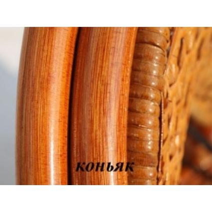 Стол обеденный из ротанга 02/02А овальный Шоколад