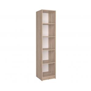 Шкаф-стеллаж СК-026 (Дуб санома) 400х1820х420