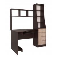 Стол компьютерный СК-004 (Венге/Дуб серый) 1450х1820х900