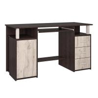 Стол компьютерный СК-008 (Венге/Дуб серый) 1300х750х600