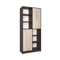Шкаф комбинированный СК-022 (Венге/Дуб серый) 800х1820х420