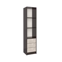 Шкаф-пенал СК-023 (Венге/Дуб серый) 400х1820х420