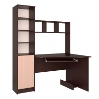 Стол компьютерный СК-005 (Венге/Дуб молочный) 1450х1820х900
