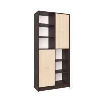 Шкаф комбинированный СК-022 (Венге/Дуб молочный) 800х1820х420