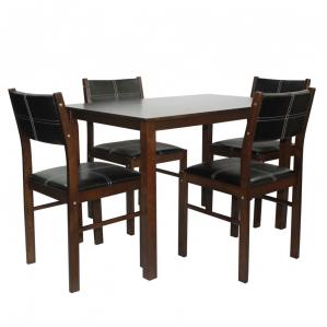 Комплект обеденный: стол Банги-1 + стул Китти 4шт