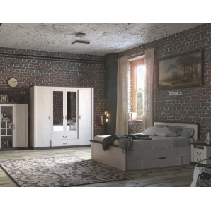 Набор мебели для спальни «ТАУЭР-8» (Спальня-1)