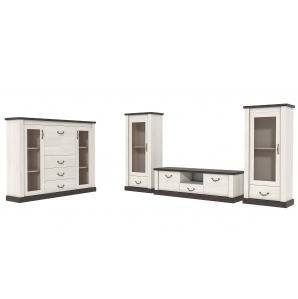 Набор мебели для жилой комнаты «ТАУЭР-4» (Гостиная-4)
