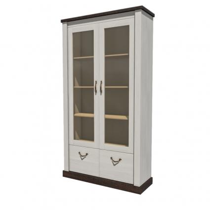 Шкаф с витриной ТР-ШГ2В/ Ш1103 В2010 Г366
