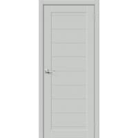 Дверь межкомнатная Браво-21 Hard Flex (Серый микс)