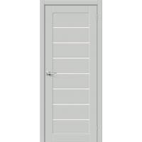 Дверь межкомнатная Браво-22 Hard Flex (Серый микс)