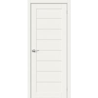 Дверь межкомнатная Браво-22 Hard Flex (Белый микс)