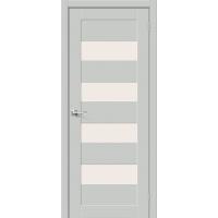 Дверь межкомнатная Браво-23 Hard Flex (Серый микс)