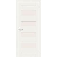 Дверь межкомнатная Браво-23 Hard Flex (Белый микс)