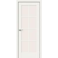 Дверь межкомнатная Прима-11 ПО Hard Flex (Белый микс)