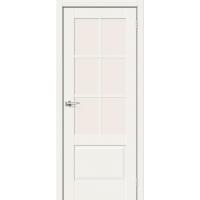 Дверь межкомнатная Прима-13 ПО Hard Flex (Белый микс)